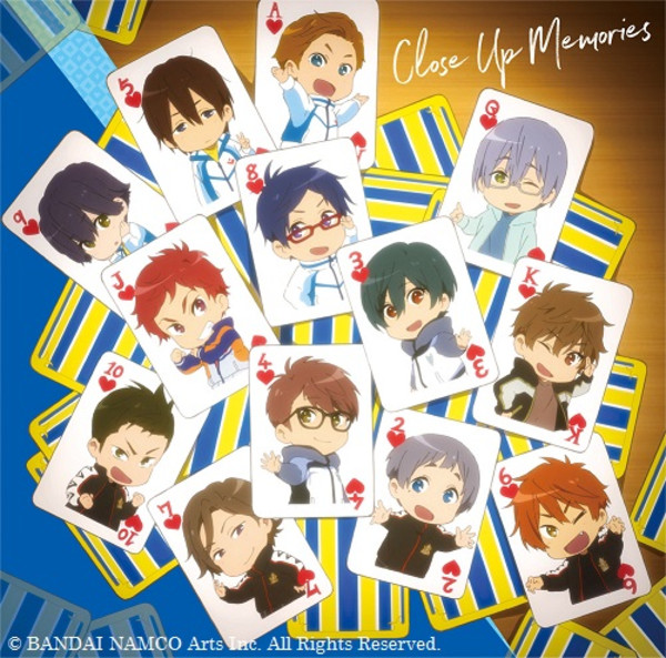 Close Up Memories Mini Character Song Album Vol 2 Free! Dive to the Future CD (Import)