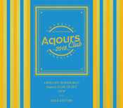Love Live! Sunshine!! Aqours Club CD Set 2018 Gold Edition Limited Edition CD (Import)