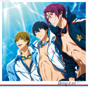 Bring It In! Free! Take Your Marks Original Soundtrack CD (Import)