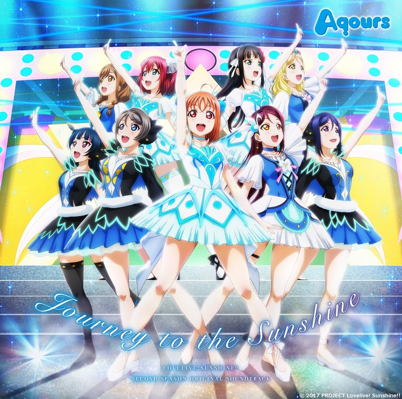 Journey to the Sunshine Love Live! Sunshine!! Original Soundtrack CD (Import)