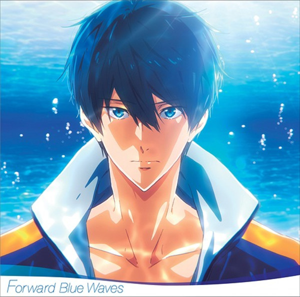 Forward Blue Waves Free! Road to the World Original Soundtrack Tatsuya Kato CD (Import)