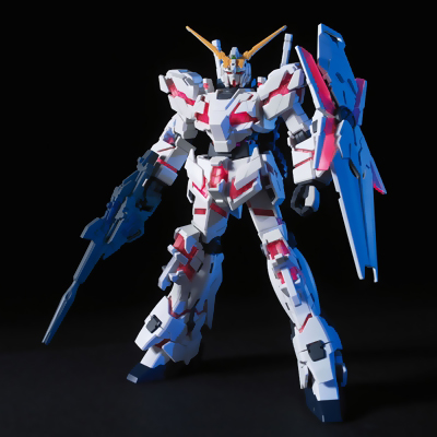 Gundam UC (Unicorn) RX-0 Unicorn Gundam Destroy Mode HGUC (1/144) Model Kit 4543112610119