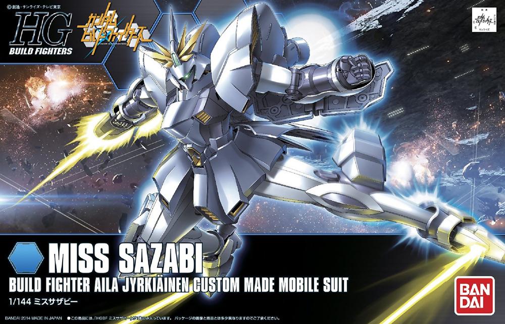 Gundam Build Fighters Model Kit: #12 Miss Sazabi High Grade (1/144)