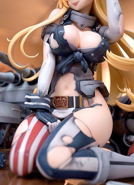 Iowa Half-Damaged Heavy Armament Ver Kantai Collection -KanColle- Figure