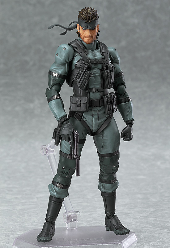 Solid Snake MGS2 Ver Metal Gear Solid 2 Sons of Liberty Figma Figure 4545784063538
