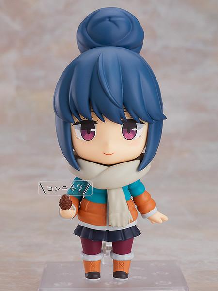 Rin Shima (Re-run) Laid-Back Camp DX Ver Nendoroid Figure