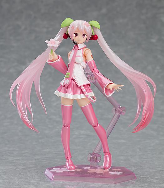 Hatsune Miku Cherry Blossom Ver Figma Figure