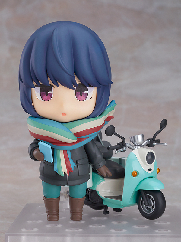 Rin Shima Touring Ver Laid-Back Camp Nendoroid Figure
