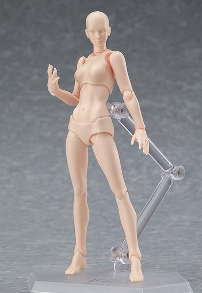Female (2nd-Run) Flesh Color Ver Archetype Figma Figure
