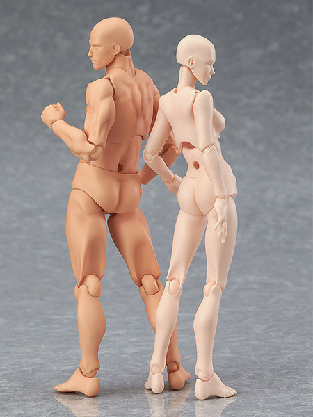 Male (2nd-Run) Flesh Color Ver Archetype Figma Figure