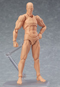 Male (2nd-Run) Flesh Color Ver Archetype Figma Figure