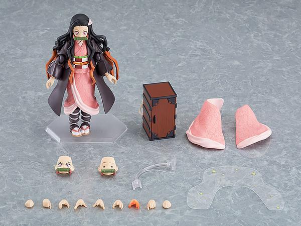 Nezuko Kamado Demon Slayer DX Edition Figma Figure