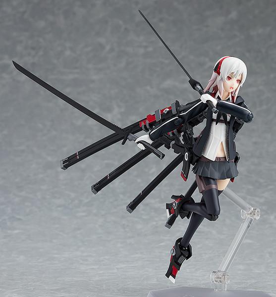 Shi (Re-run) Heavily Armed High School Girls Figma Figure