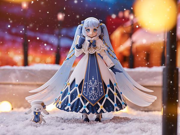 Snow Miku Glowing Snow Ver Hatsune Miku Vocaloid Figma Figure