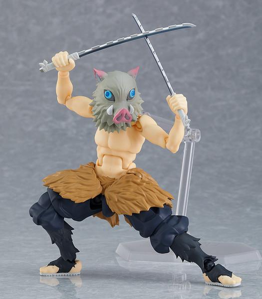 Inosuke Hashibira Demon Slayer DX Edition Figma Figure