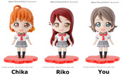Chika Riko You Love Live! Sunshine!! Figures