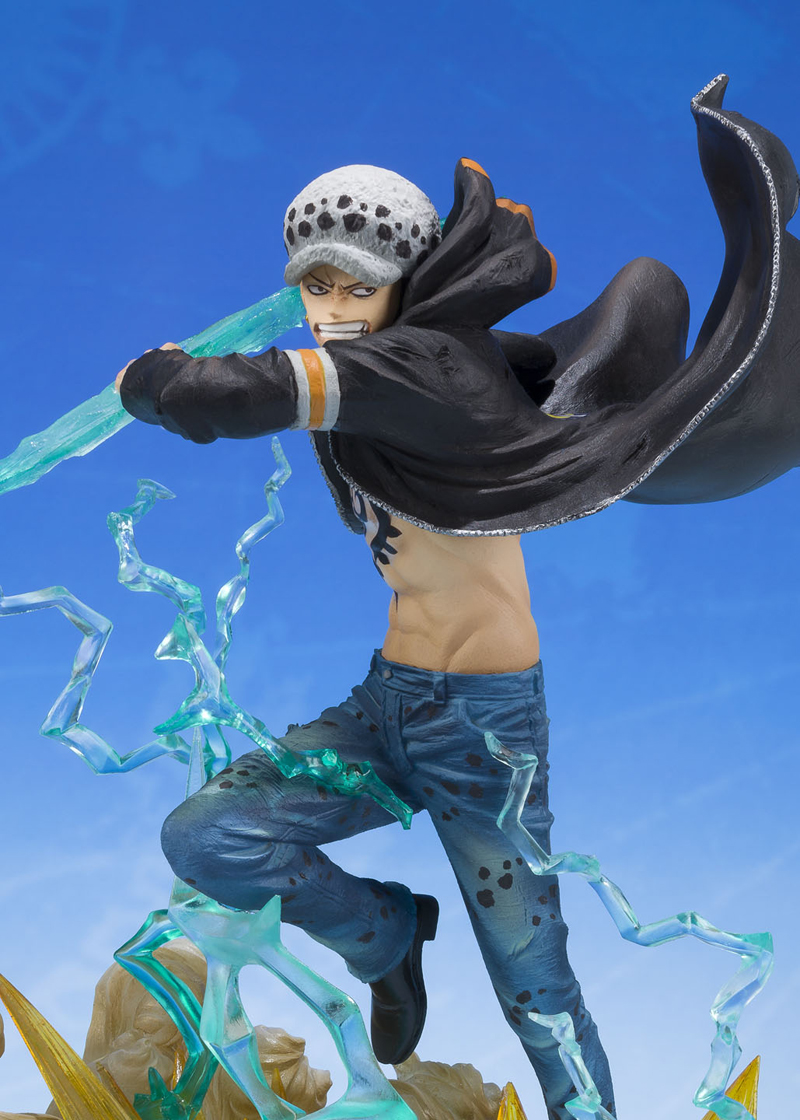 Trafalgar Law Gamma Knife One Piece Bandai Figuarts Figure