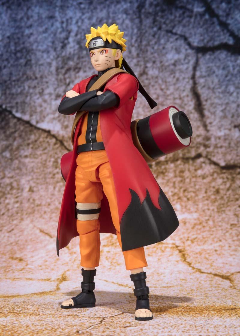 Naruto Uzumaki Sage Mode Naruto SH Figuarts Figure 4549660208693