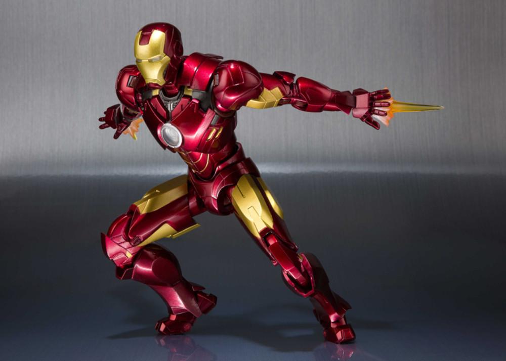 Iron Man Mark Iv Hall Of Armor Marvel Sh Figuarts Figure