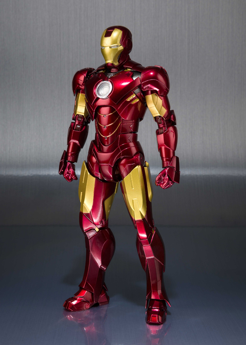 Iron Man Mark IV Hall of Armor Marvel SH Figuarts Figure 4549660208709