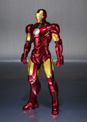 Iron Man Mark IV Hall of Armor Marvel SH Figuarts Figure