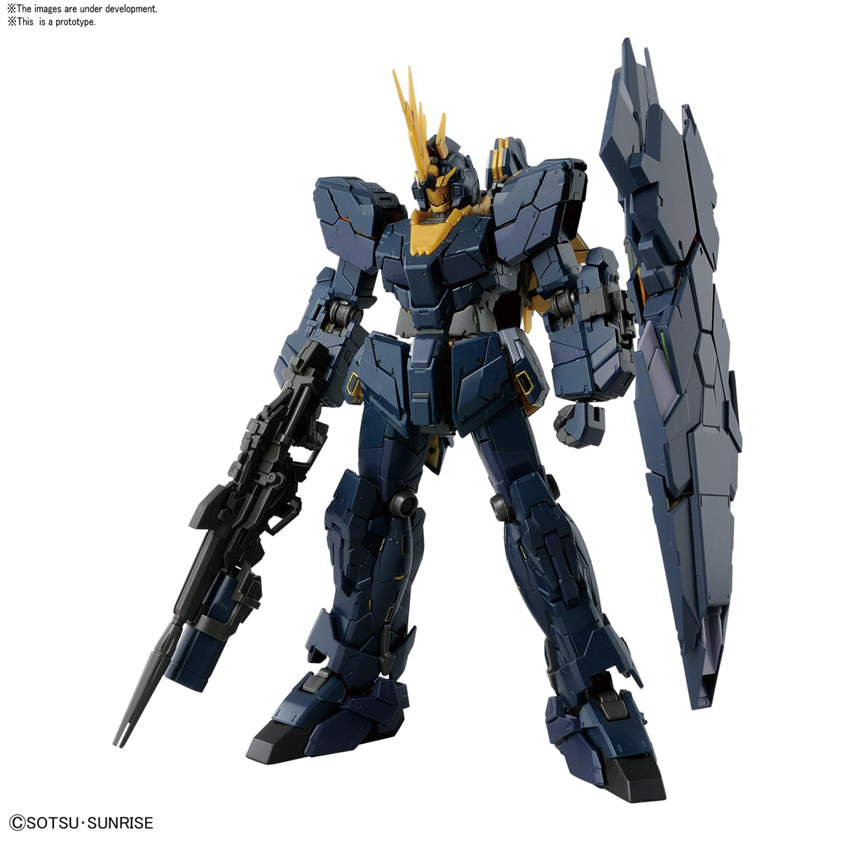 Unicorn Gundam 2 Banshee Gundam Unicorn Model Kit RG 1/144