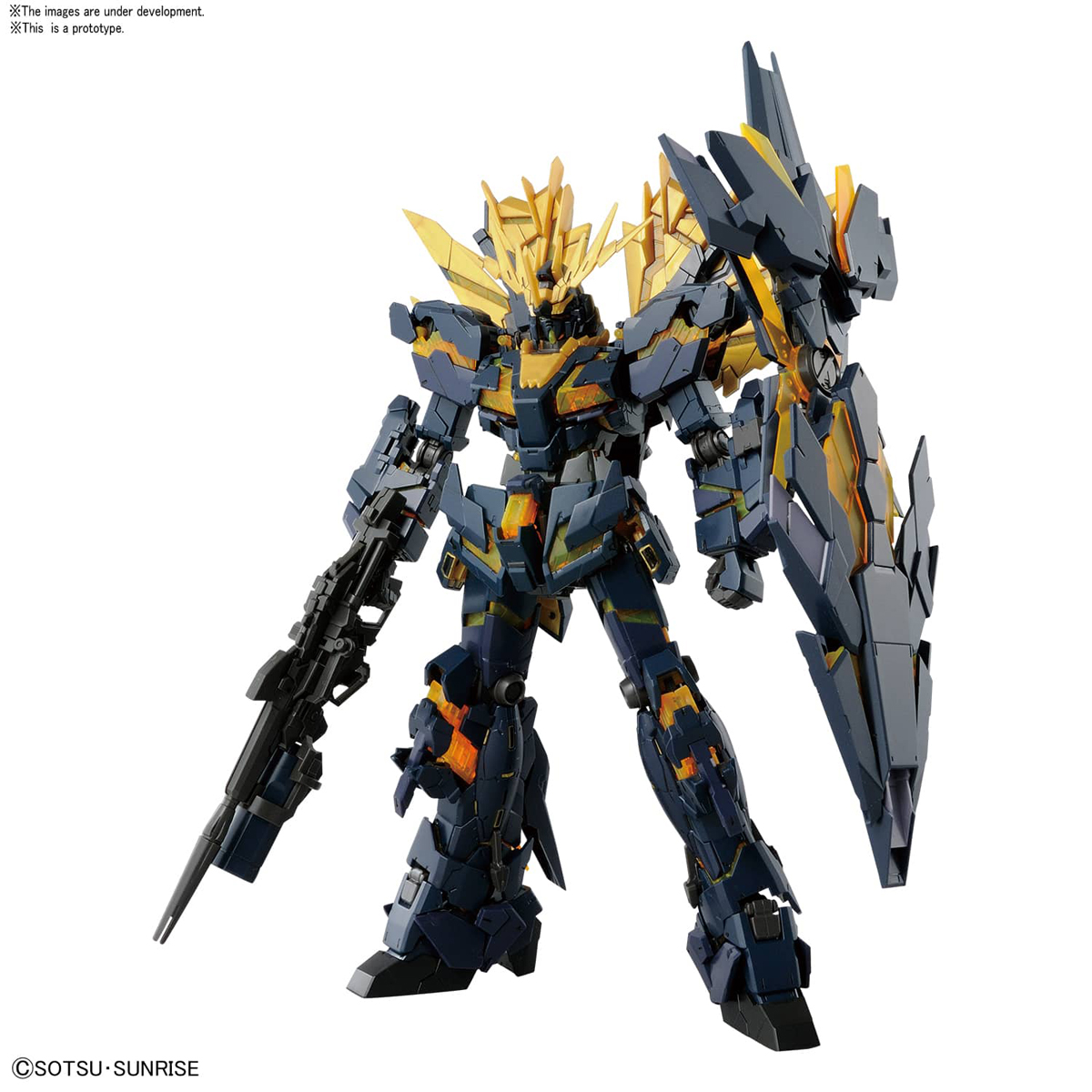 Unicorn Gundam 2 Banshee Gundam Unicorn Model Kit RG 1/144 4549660210603