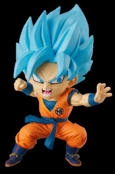 Super Saiyan Blue Son Goku Chibi Masters Dragon Ball Super Figure