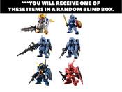 FW Gundam Converge 10th Anniversary Ver Bandai Shokugan Figure Blind Box