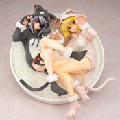 Laura and Charlotte Nekomimi Pajama Infinite Stratos Figure