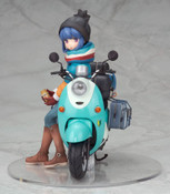 Rin Shima with Scooter Laid-Back Camp Figure