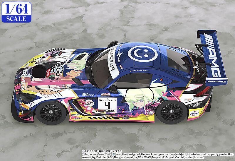 Promare #4 Mercedes-AMG Team Black Falcon 2019 SPA24H Ver 1/64 Scale Good Smile Racing Car