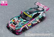 Hatsune Miku AMG 2020 SUPER GT Okayama Test Ver 1/18 Scale Good Smile Racing Car