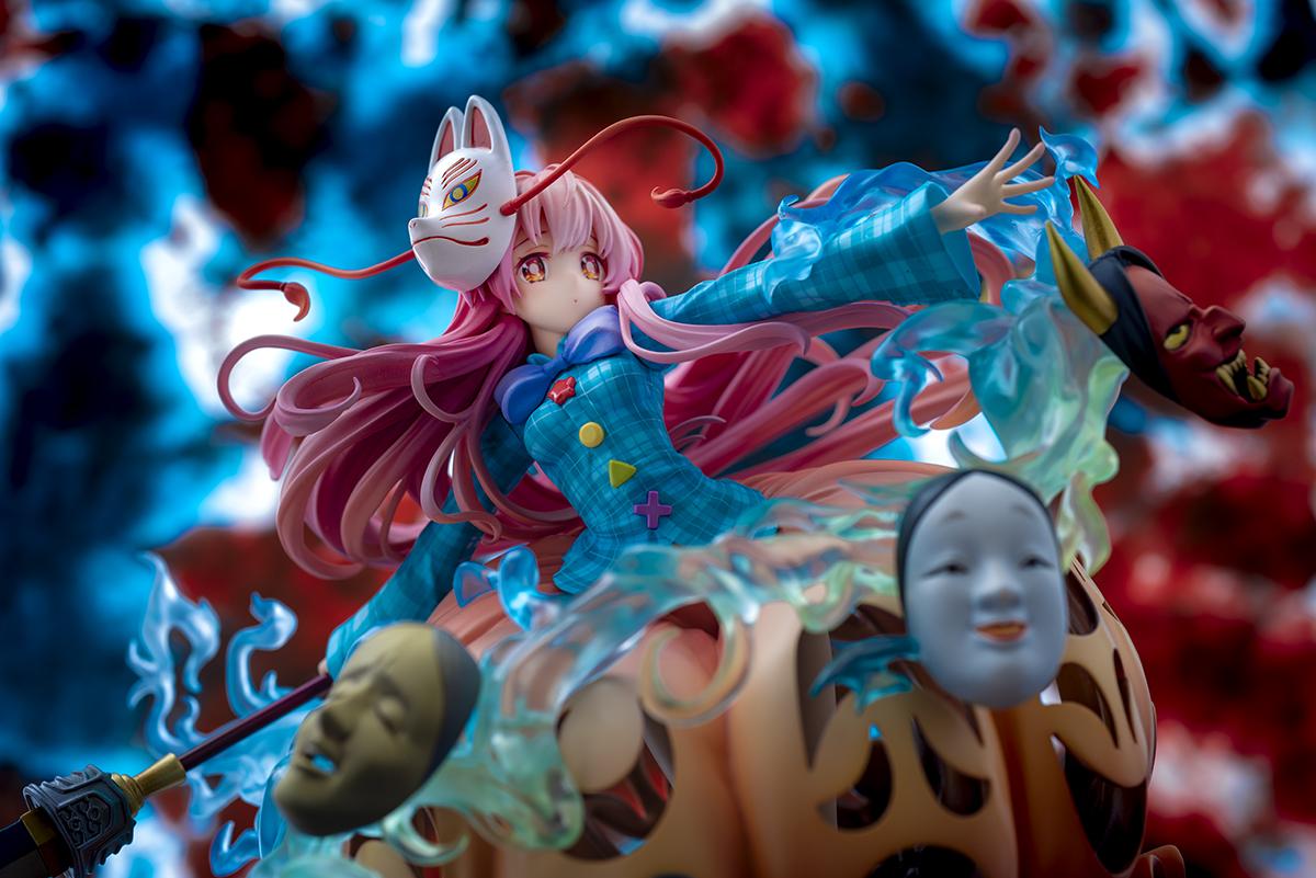 Hata no Kokoro The Expressive Poker Face Touhou Project Figure