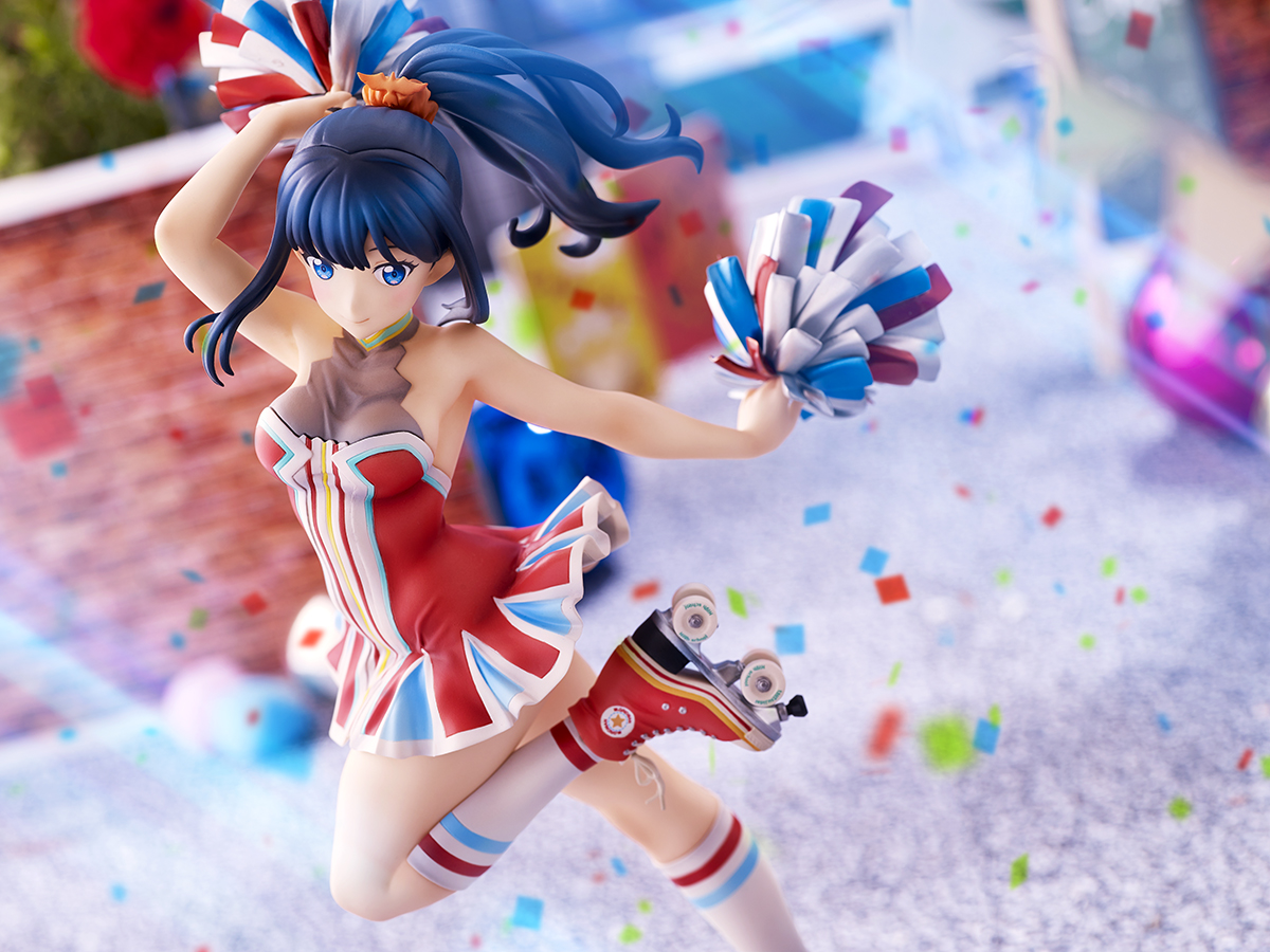Rikka Takarada Cheer Girl Ver SSSS.GRIDMAN Figure