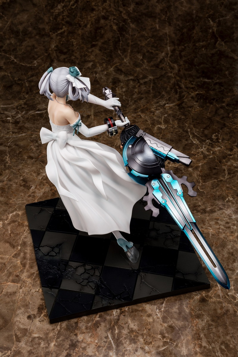 Ciel Alenson Pure White Anniversary Dress Ver God Eater Figure