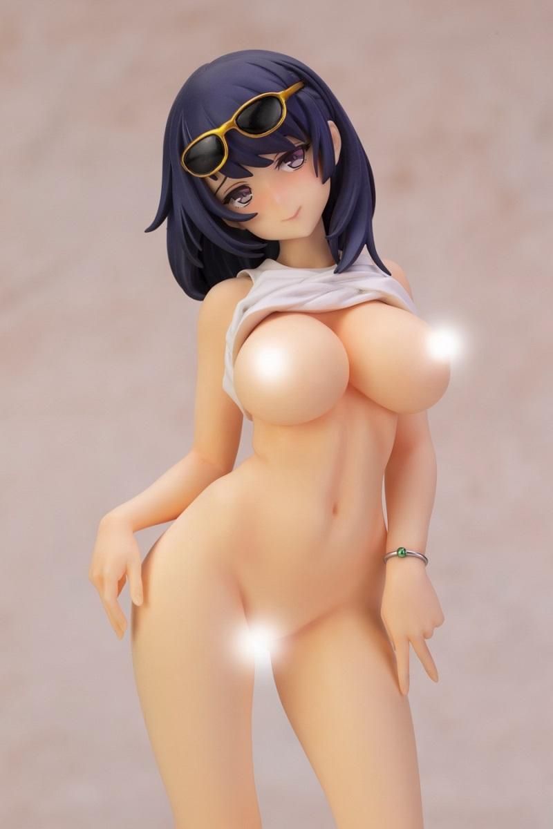 Toshiue Kanojo Purple Ver Original Character Figure