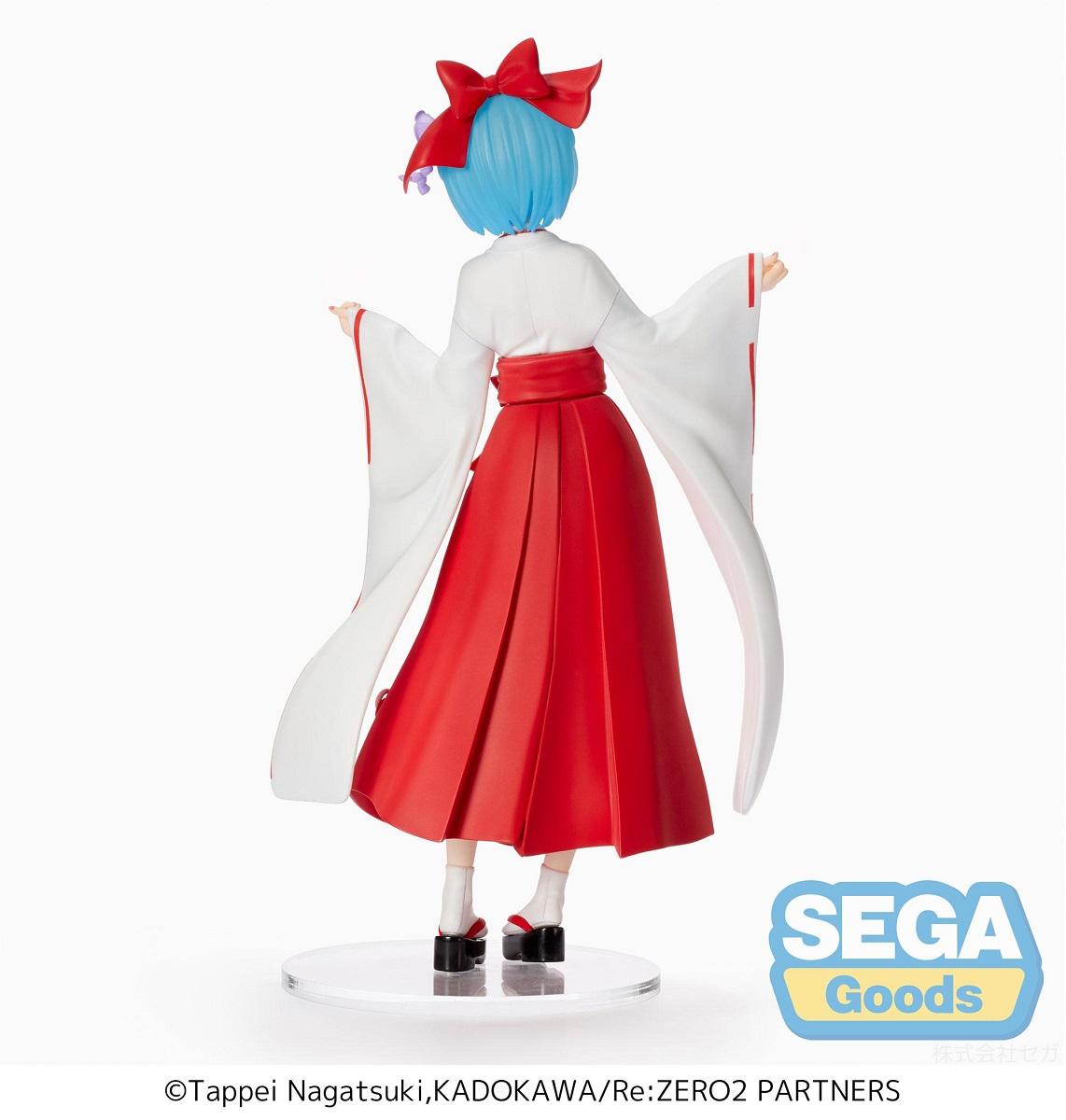 Rem Shrine Maiden Ver Re:ZERO SPM Prize Figure