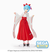 Rem Shrine Maiden Ver Re:ZERO SPM Prize Figure