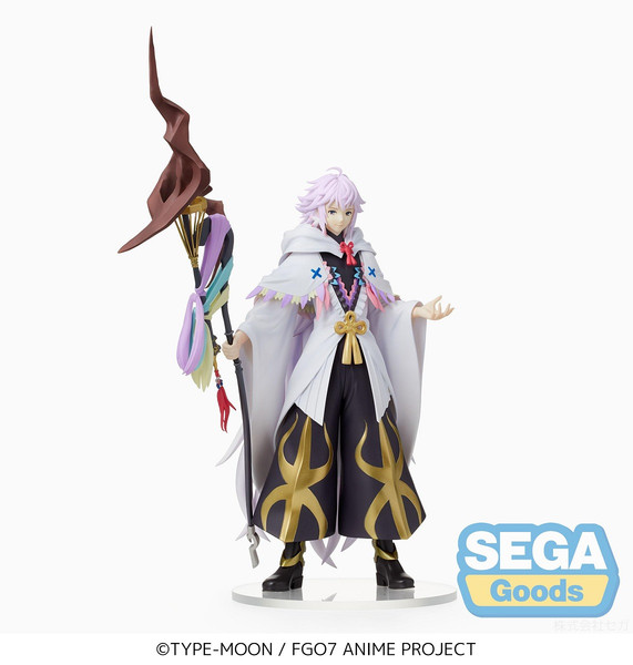 Caster/Merlin Fate/Grand Order Absolute Demonic Front Babylonia Prize Figure