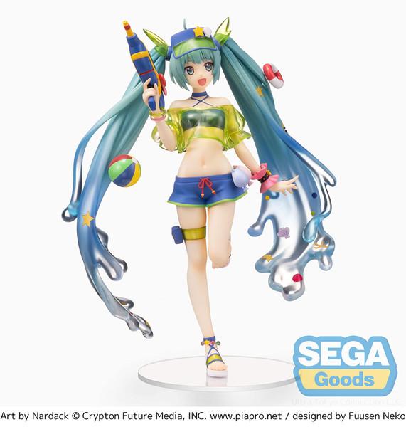 Hatsune Miku Splash Parade Ver Vocaloid SPM Prize Figure