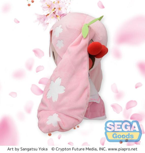 Sakura Miku Preciality Hatsune Miku SP Plush