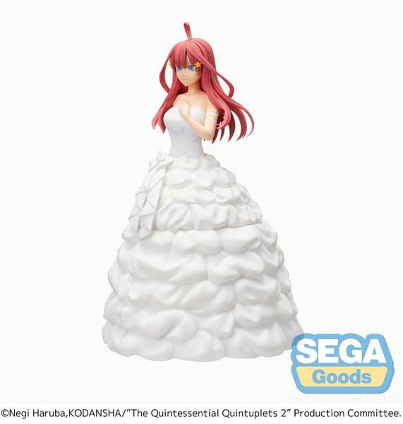 Itsuki Nakano Bride Ver The Quintessential Quintuplets SPM Prize Figure