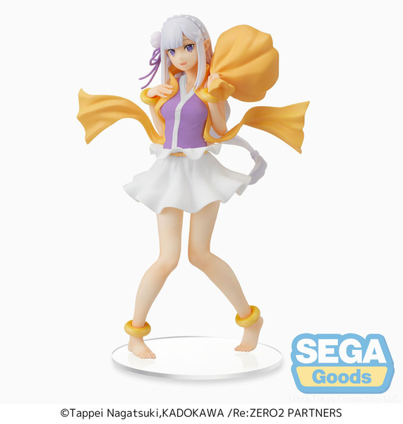Emilia Wind God Ver Re:ZERO SPM Prize Figure