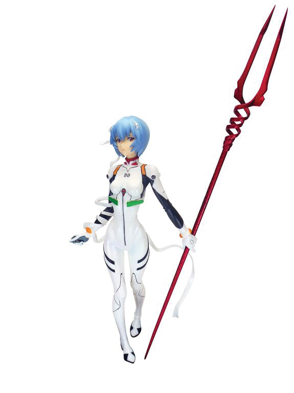 Rei Ayanami Evangelion 2.0 You Can (Not) Advance Cold Cast Figure 4571104181767