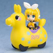 Kagamine Rin & CuteRody (Lemon) Nendoroid Plus Pullback Cars