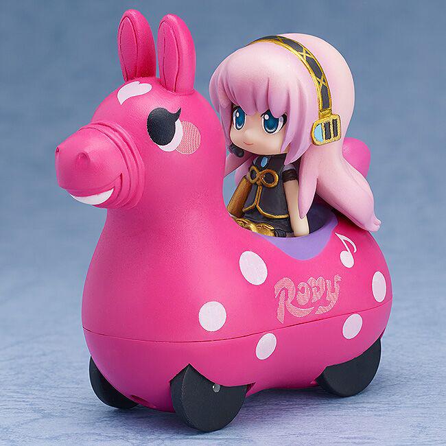Megurine Luka & CuteRody (Peach) Nendoroid Plus Pullback Car