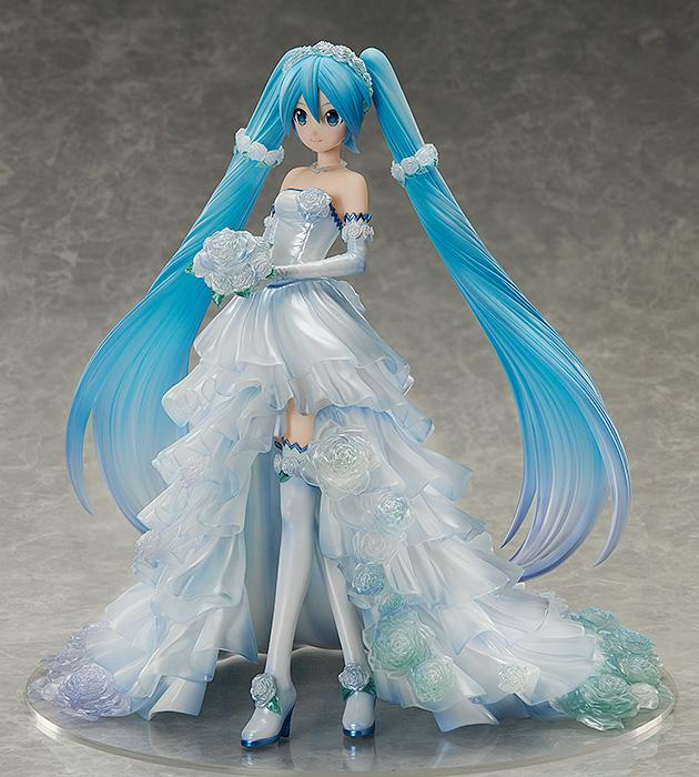 Hatsune Miku Wedding Dress Ver Vocaloid Figure