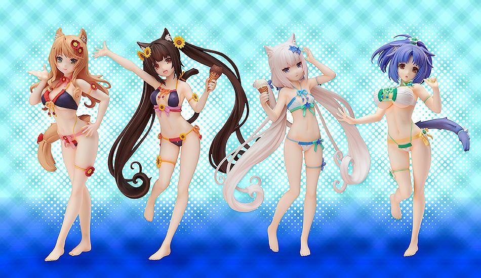 Maple Swimsuit Ver NekoPara Figure