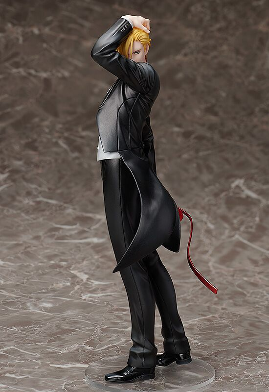 Ash Lynx Statue and Ring Style Banana Fish Figure